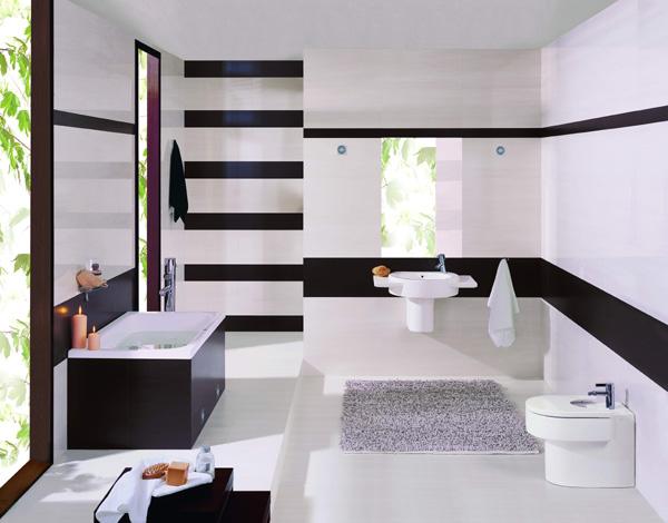 Obklady a dlažby  Ceramika Paradyz  PRAKTIK - kúpeľne